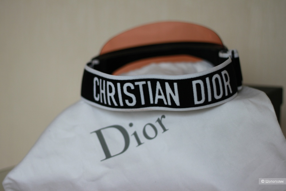 Солнцезащитный козырек Chistian Dior