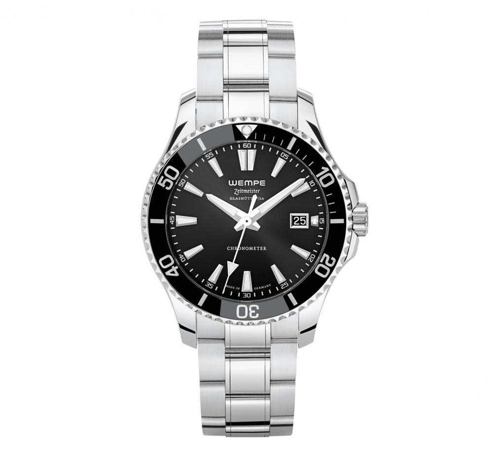 Часы мужские Wempe Glashütte i/SA Zeitmeister Sport