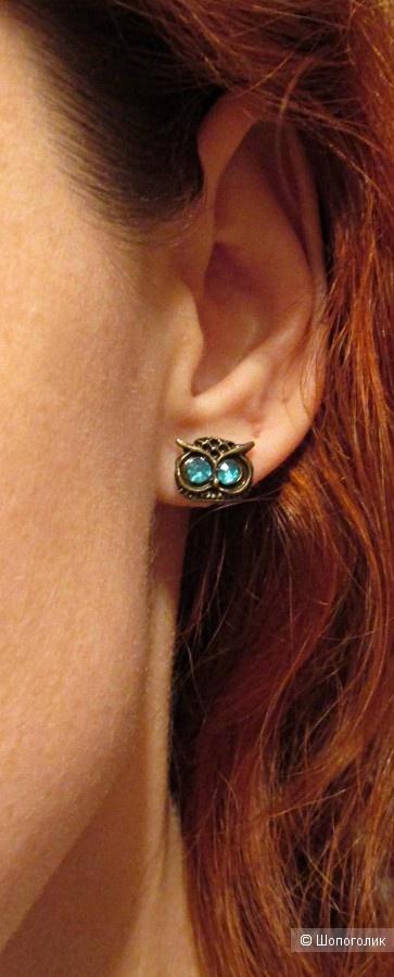 Серьги пуссеты Fashion Jewelry