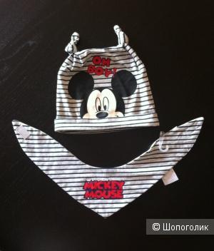 Шапка и снуд Disney Baby, размер 48/50см