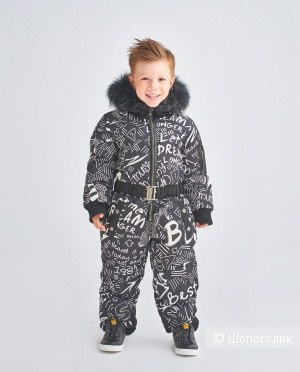 Детский зимний комбинезон Gulliver, р-р 104 (+6)