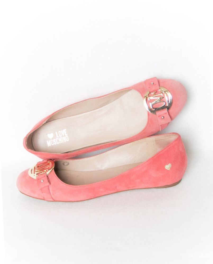 Балетки  (туфли) Love Moschino  размер 40
