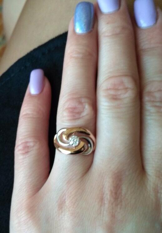 Кольцо, SOKOLOV, размер 16,5