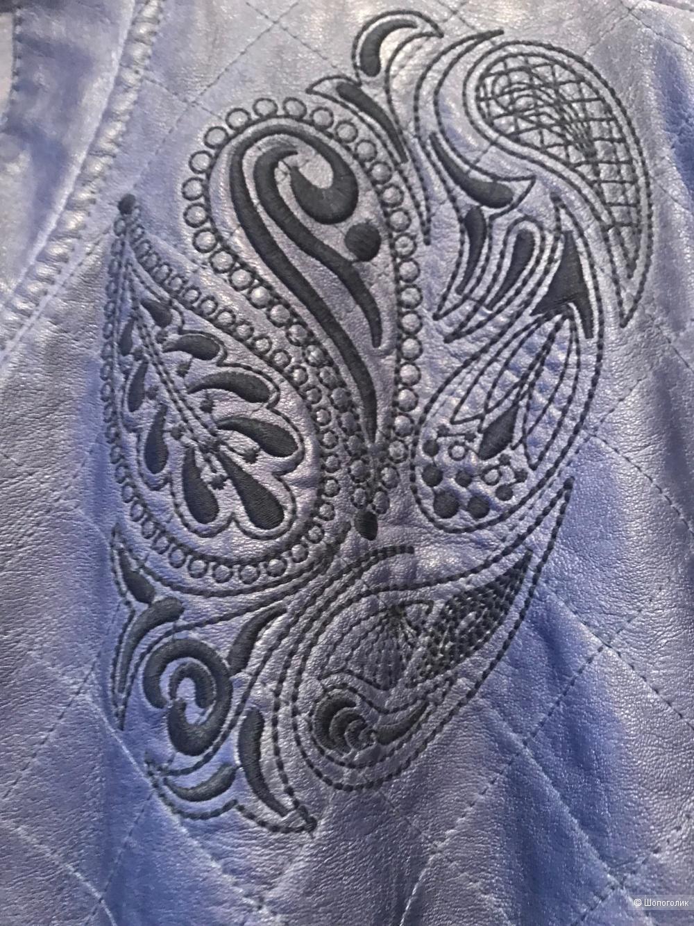Куртка Ulla Popken из экокожи, размер 56/58