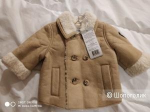 Куртка-дубленка Gulliver, 68 см (+6)