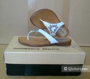 Шлепанцы Gianmarco Benatti 36 размер