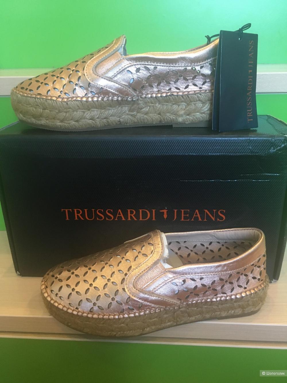 Эспадрильи Trussardi Jeans,37 размер.