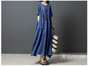 Платье бохо, 52-54 размер