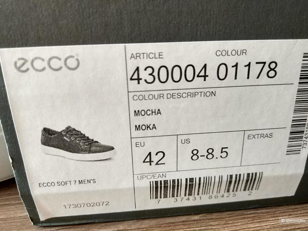 Кеды Ecco 42р.