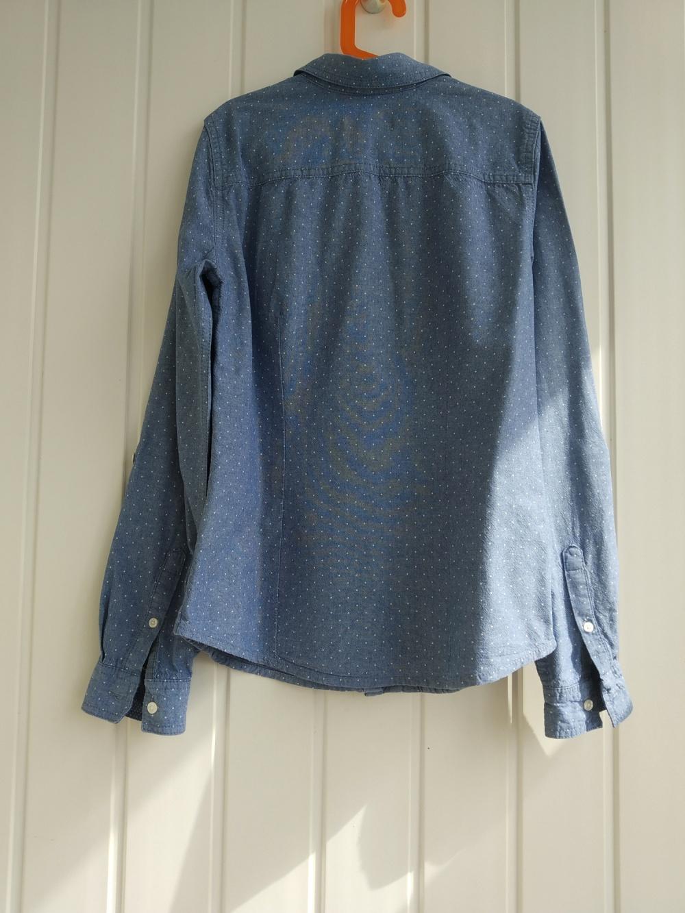 Джинсовая рубашка Colins XS
