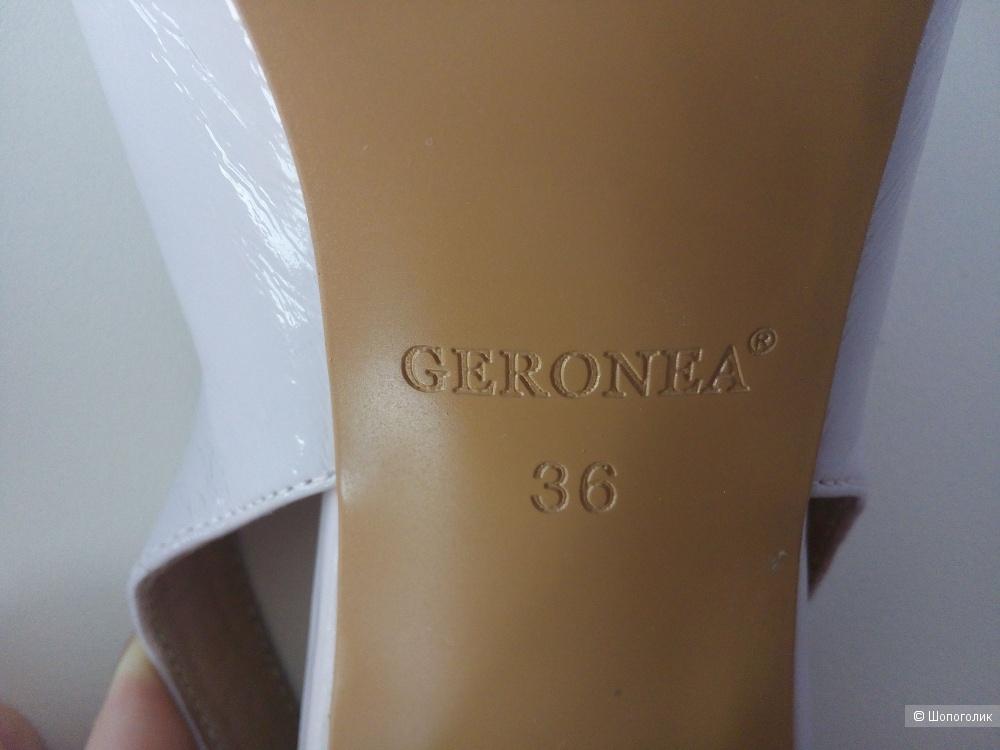 Босоножки Geronea, 36 RUS