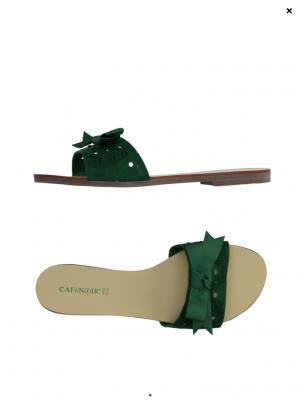Кожаные сабо CAFeNOIR, 38 размер