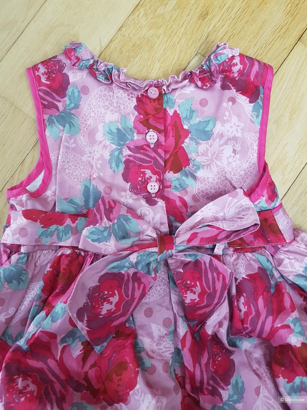 Шикарное платье Monsoon на 18-24 мс