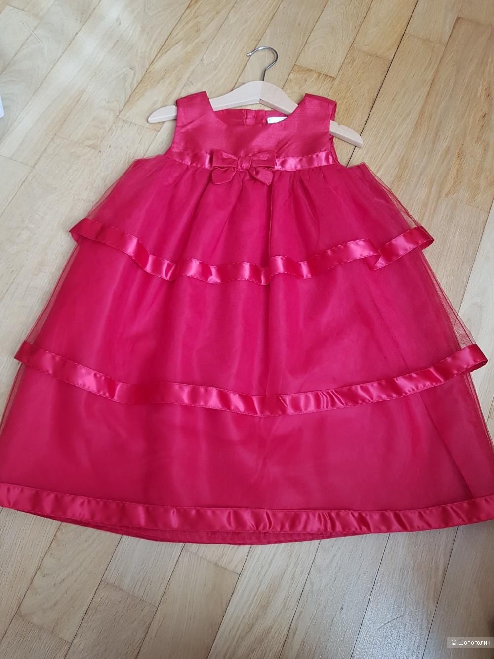 Шикарное платье Gymboree, 5 лет