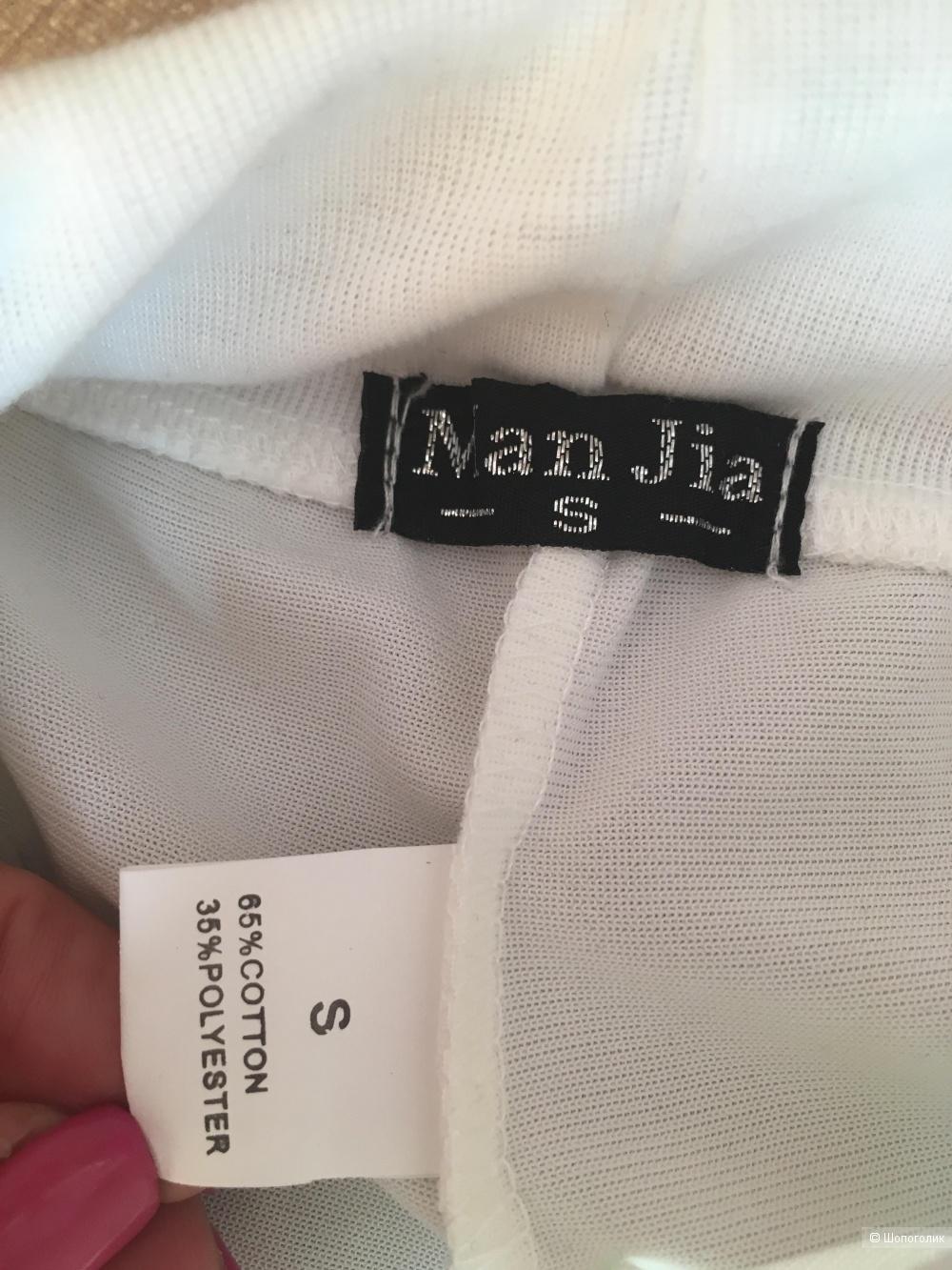 Брюки с лампасом  Man jia, размер S, 42