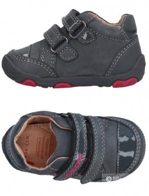 Ботиночки geox для девочки размер 22eur