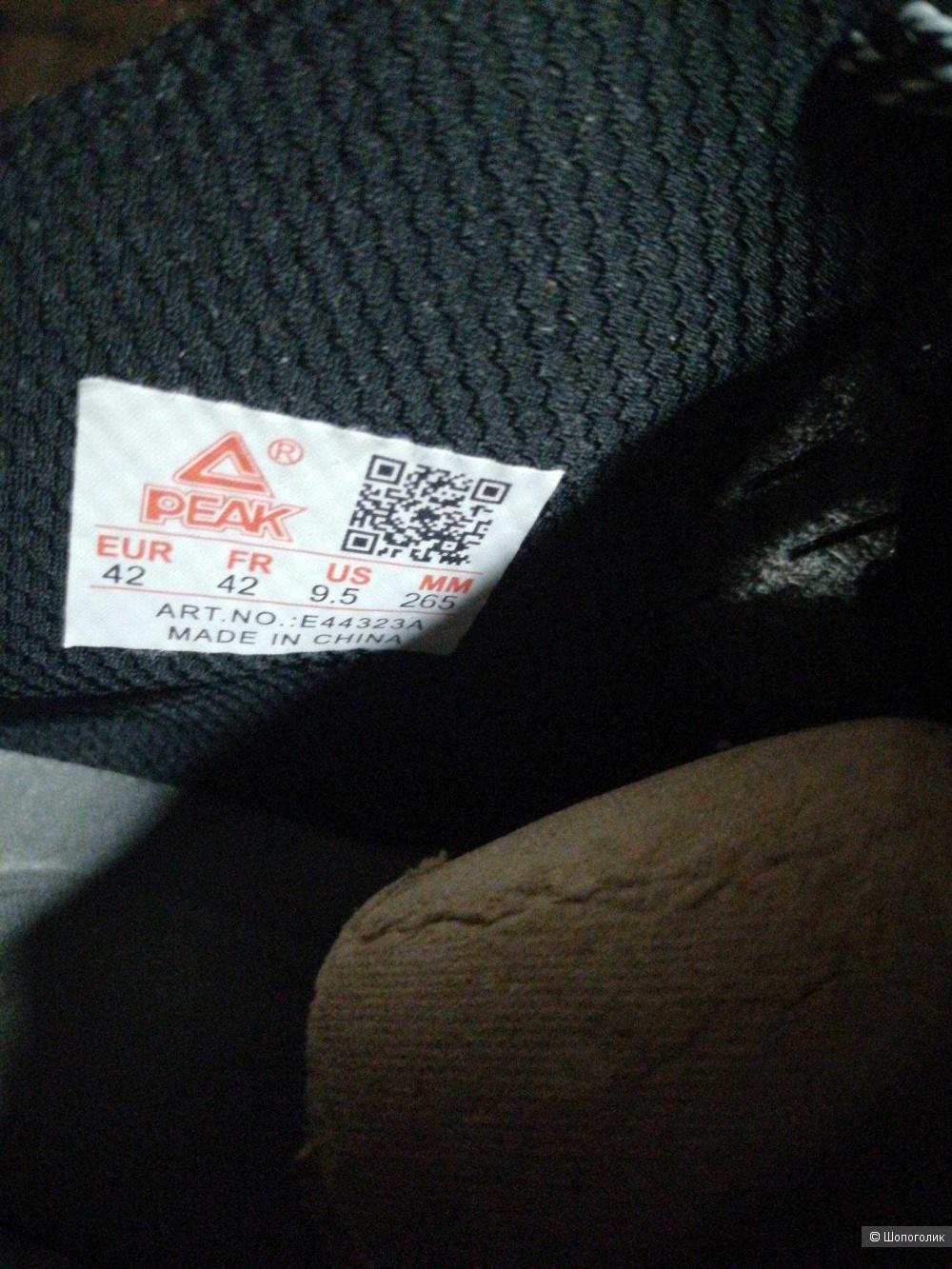 Peak Tony Parker 2 баскетбольные кроссовки US 9.5, 265 мм