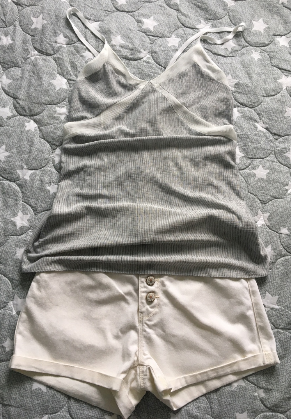 Сет  шорты Only, размер S+Топ Zara, размер S