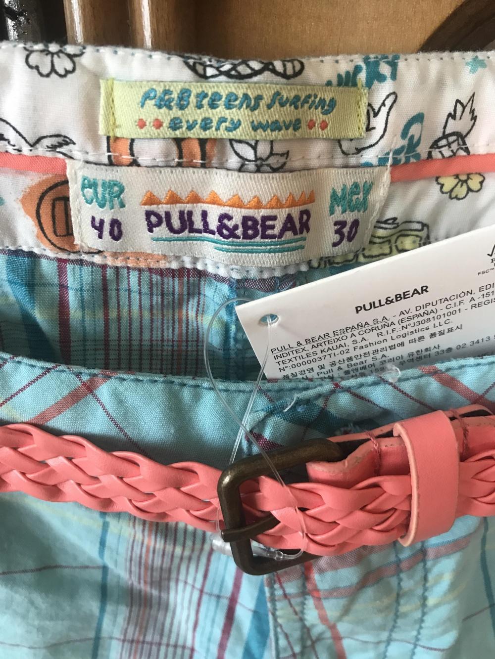 Шорты Pull&Bear размер 42-44