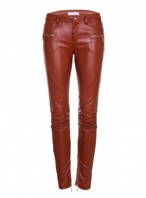 Кожаные брюки StyleTrack, размер S