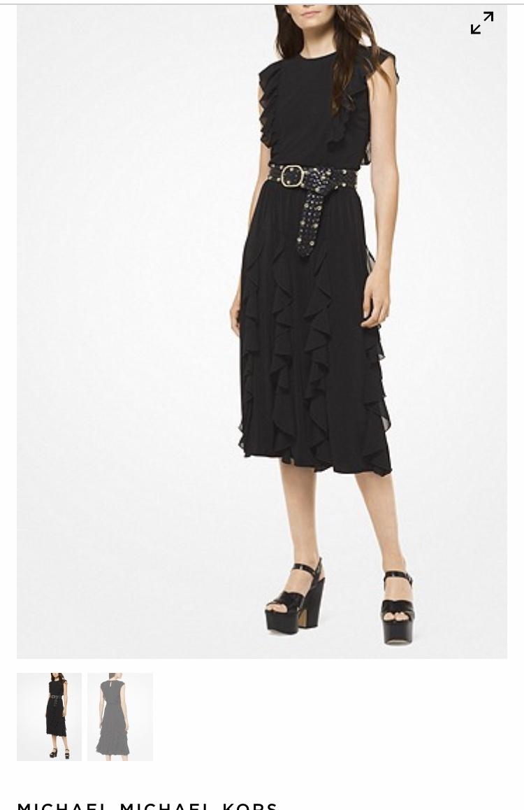 Платье с воланами Michael Kors размер S