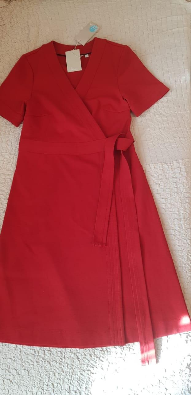 Платье Mira Ponte Wrap Dress - Poinsettia , 46 р-р