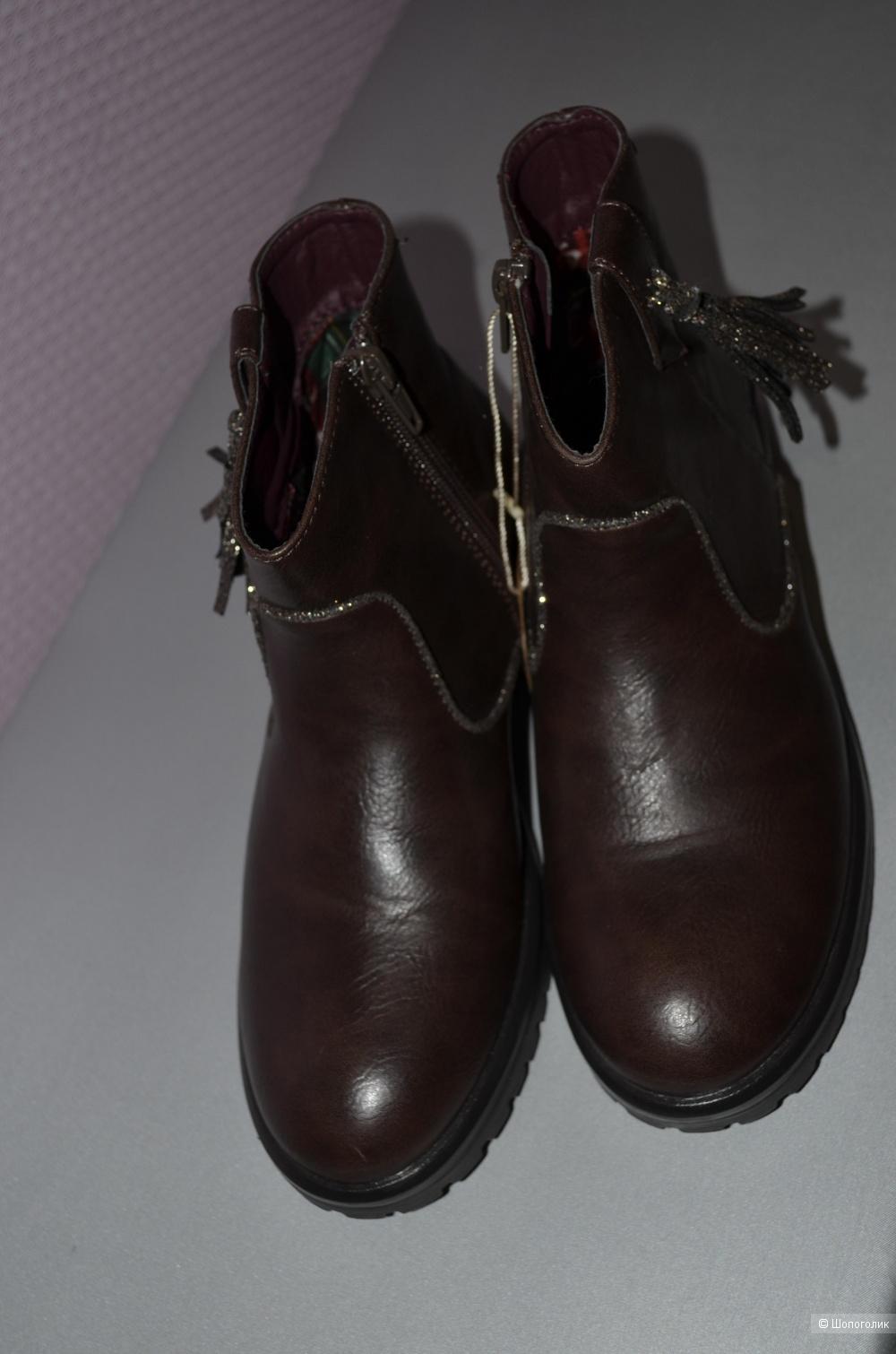 Ботиночки девичьи glosseppo 34 р-р 22см