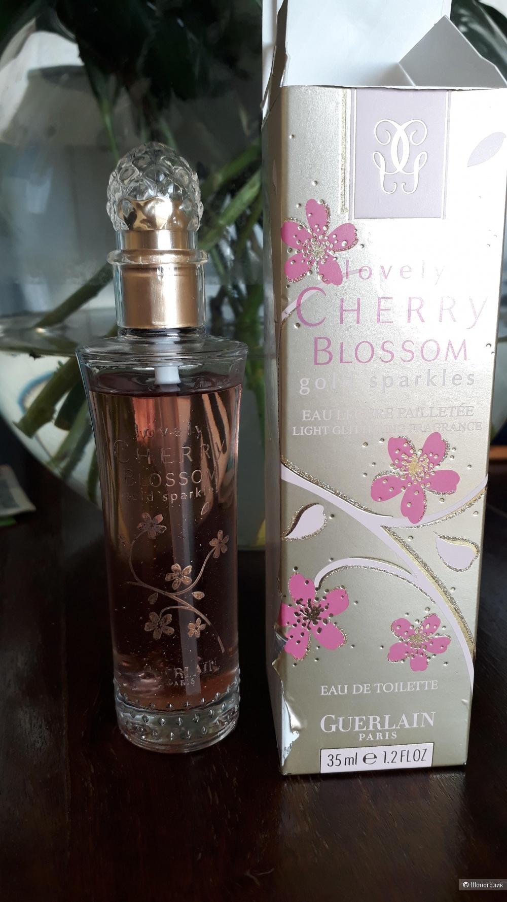 Lovely Cherry Blossom Gold Sparkles Guerlain EDT (32 из 35мл)