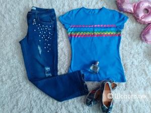 Сет  из джинс concept club и футболки haus, 42-44