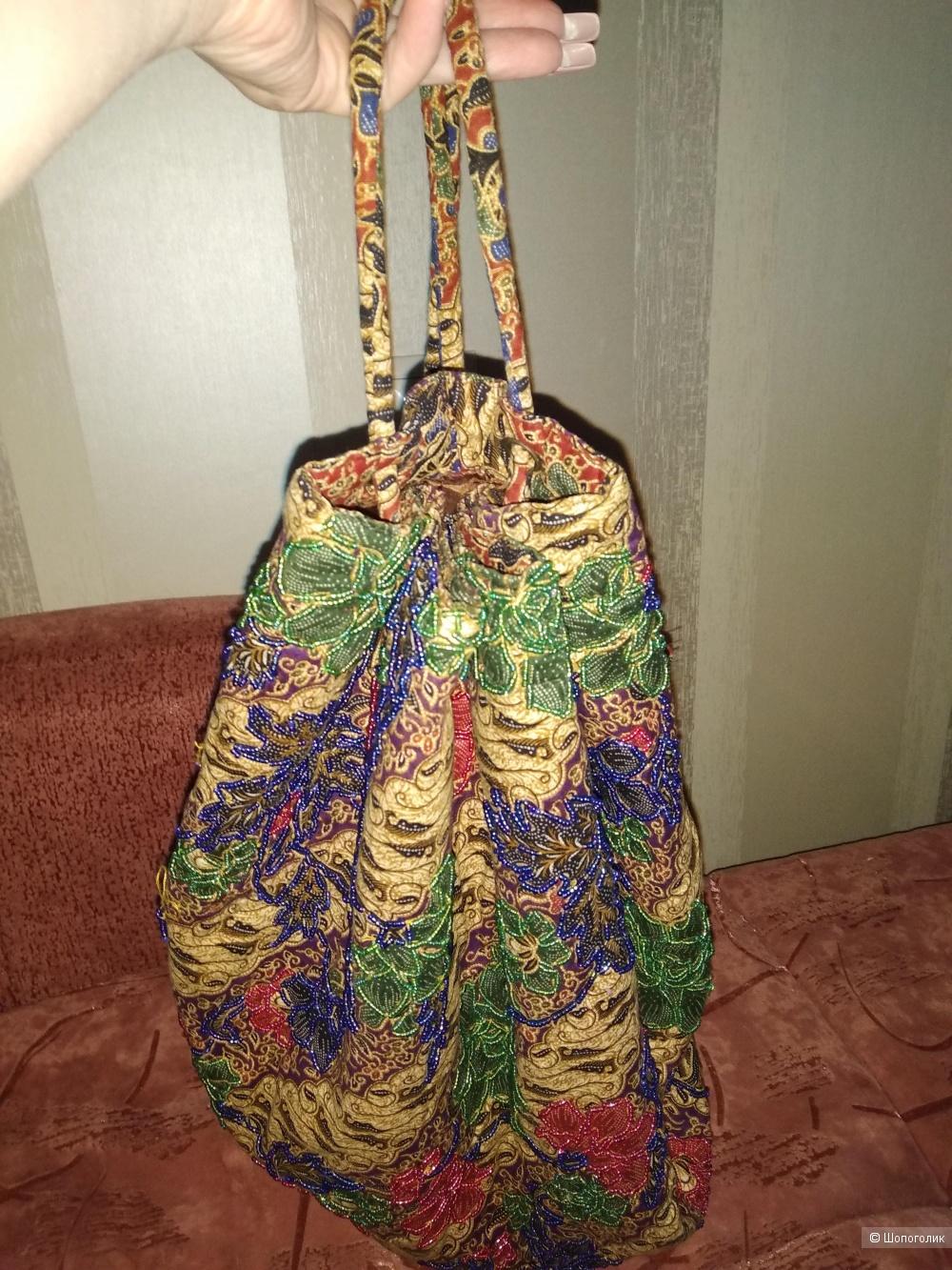 Сумка-мешок тряпичная