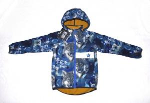 Куртка-ветровка Racoon софтшел, размер 116 (6 лет)