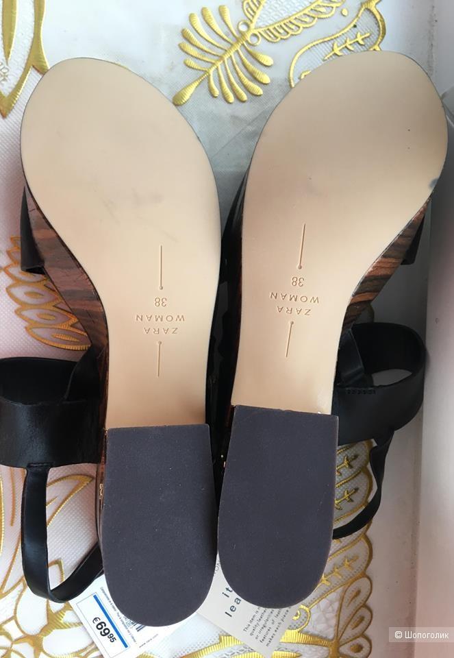 Босоножки Zara, 37 размер