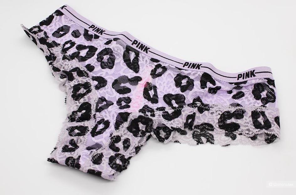 Трусики Pink от Victoria's Secret, размер XS (42) ОБ до 92 см