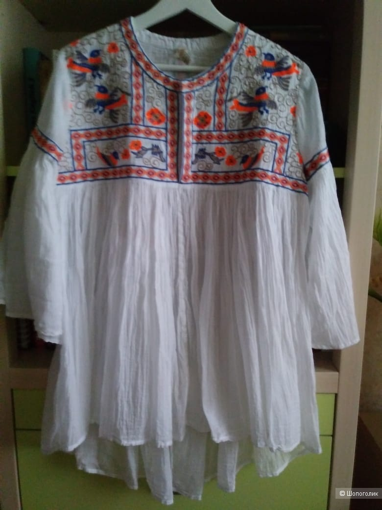 Блуза-туника   RAGA ,  размер    M - L
