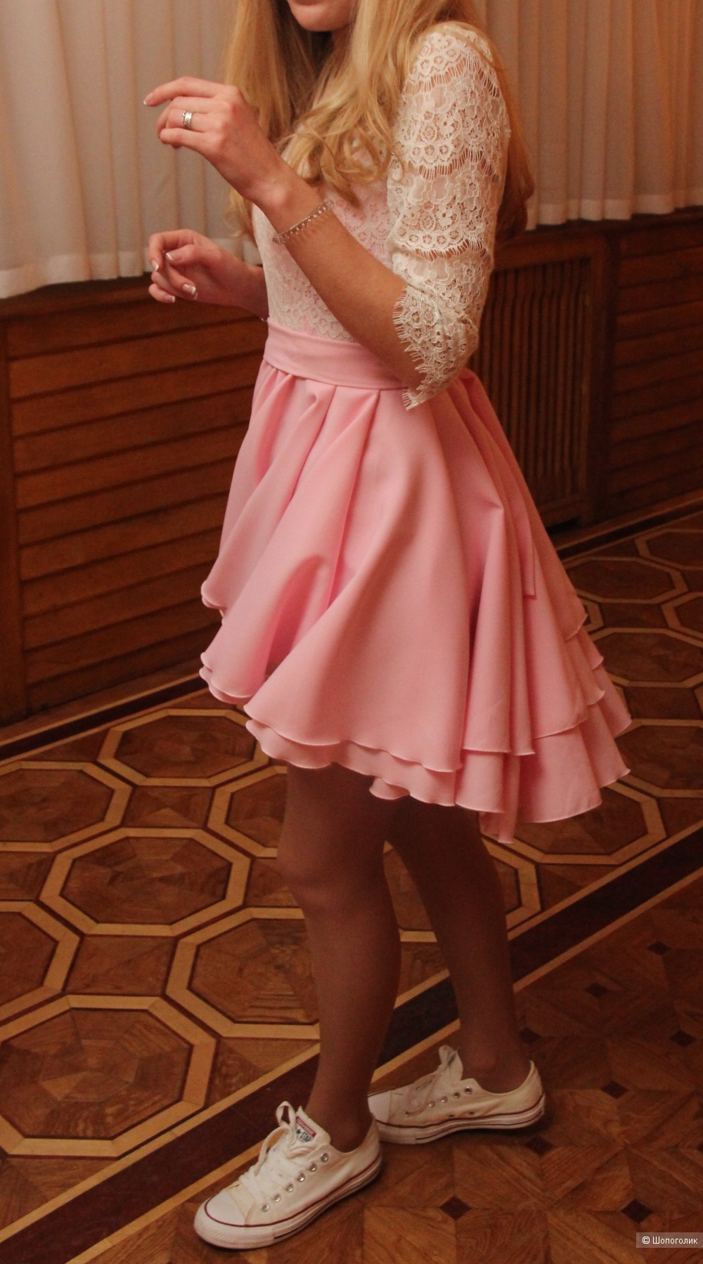 Платье, размер S/M, студия Золотой песок
