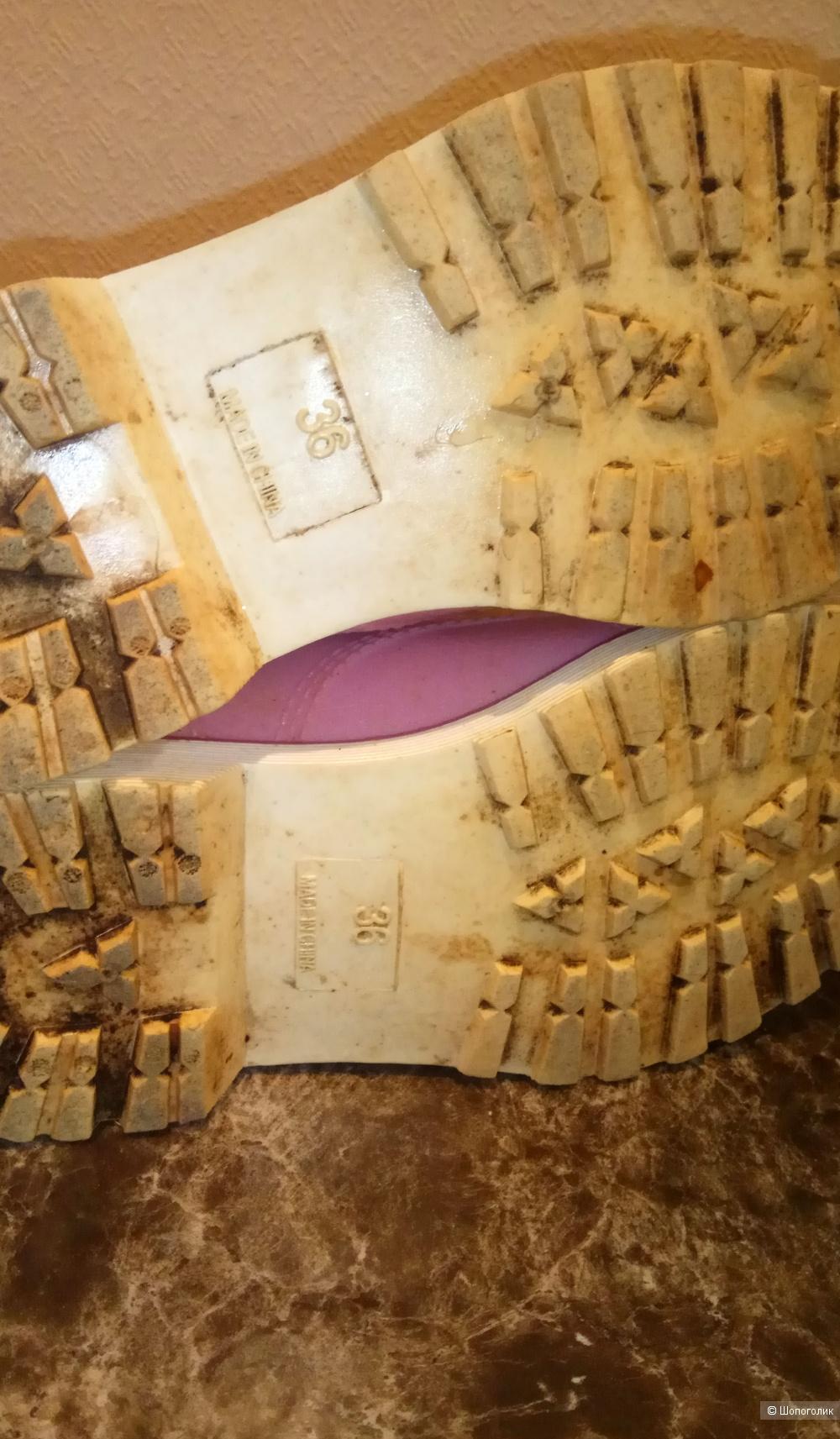 Ботинки резиновые Marmalato 22,5см по стельке