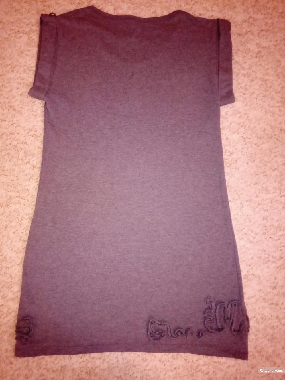 Платье серое Cap Capin р. 42-44