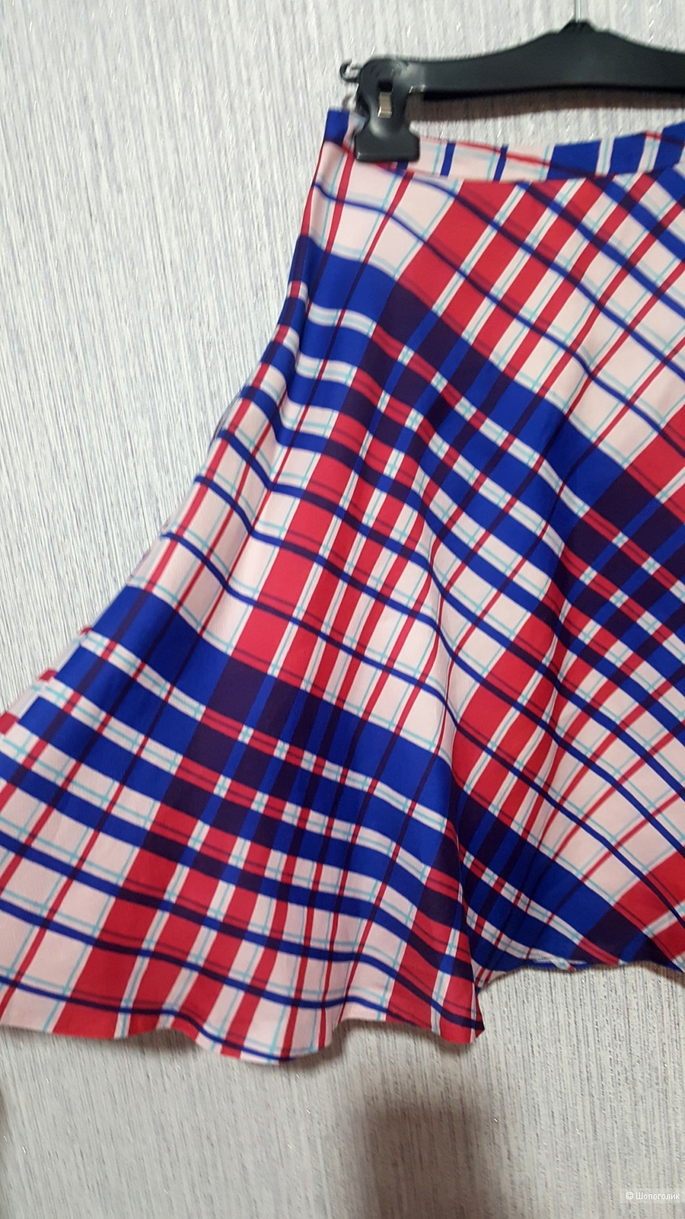 Шелковая юбка MSGM на 42-44