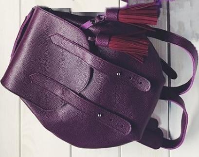 Рюкзак кожаный SHUSHA Store, one size