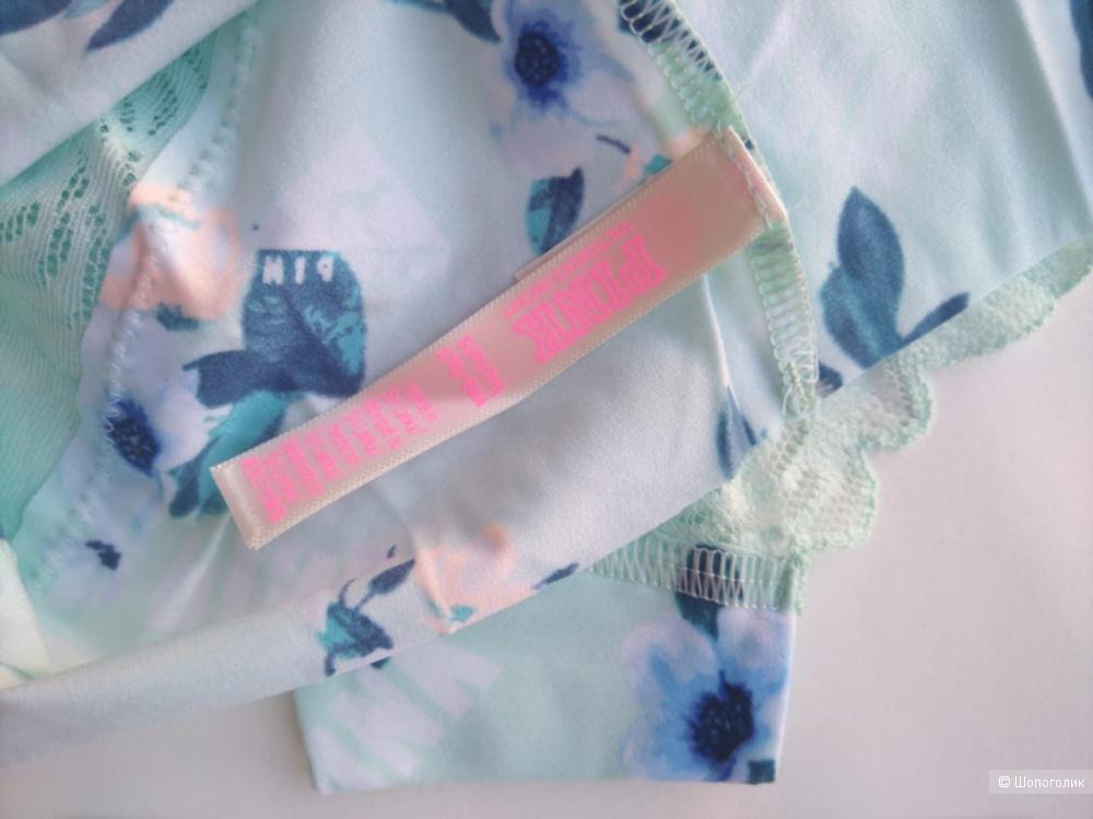 Бесшовные трусики Victorias Secret Pink S