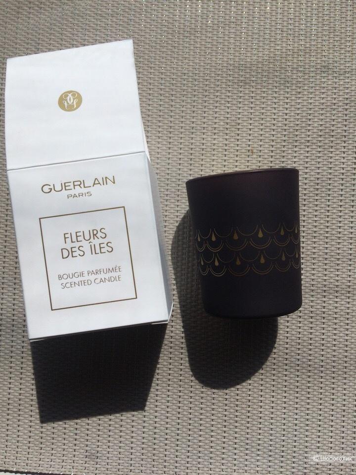 Парфюмированная свеча Guerlain Fleurs des Iles 75гр