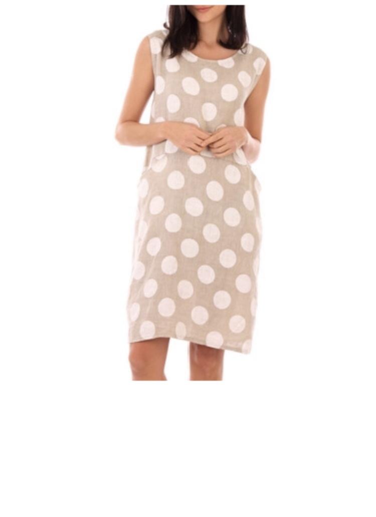 Льняное платье NoName размер 46-48