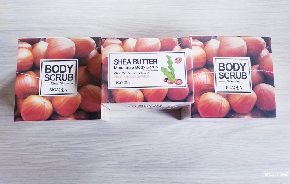 Скраб для тела с маслом Ши BIOAQUA Body Scrub Shea Butter (120г)