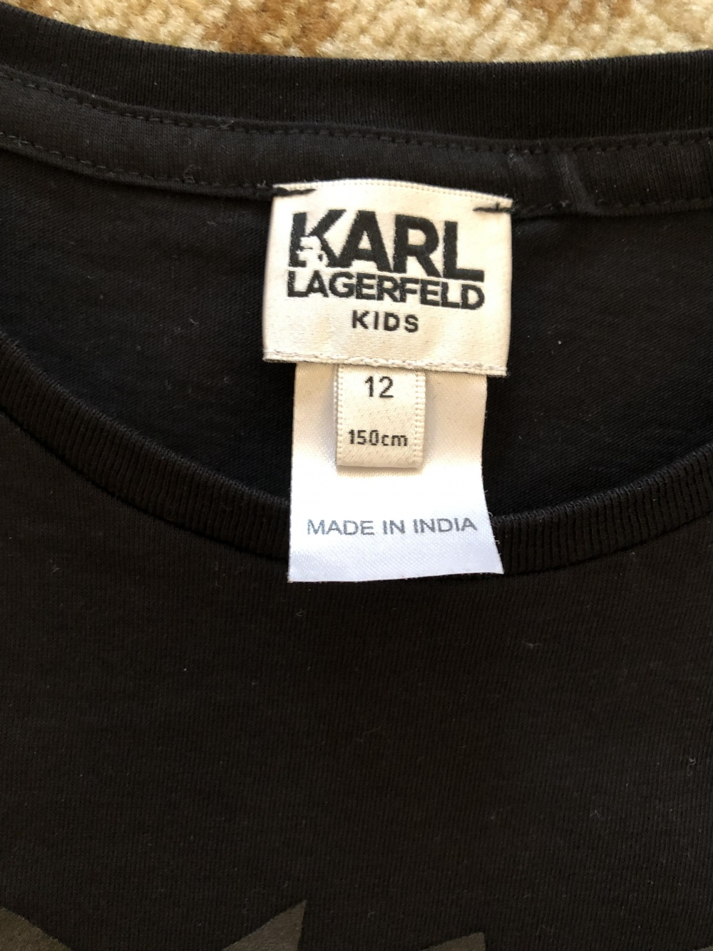 Лонгслив Karl Lagerfeld на рост 150 см