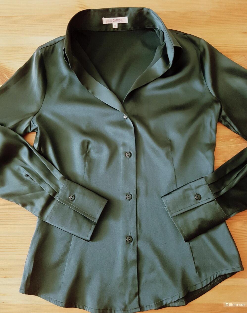Шелковая блузочка NARACAMICIE размер 42 российский