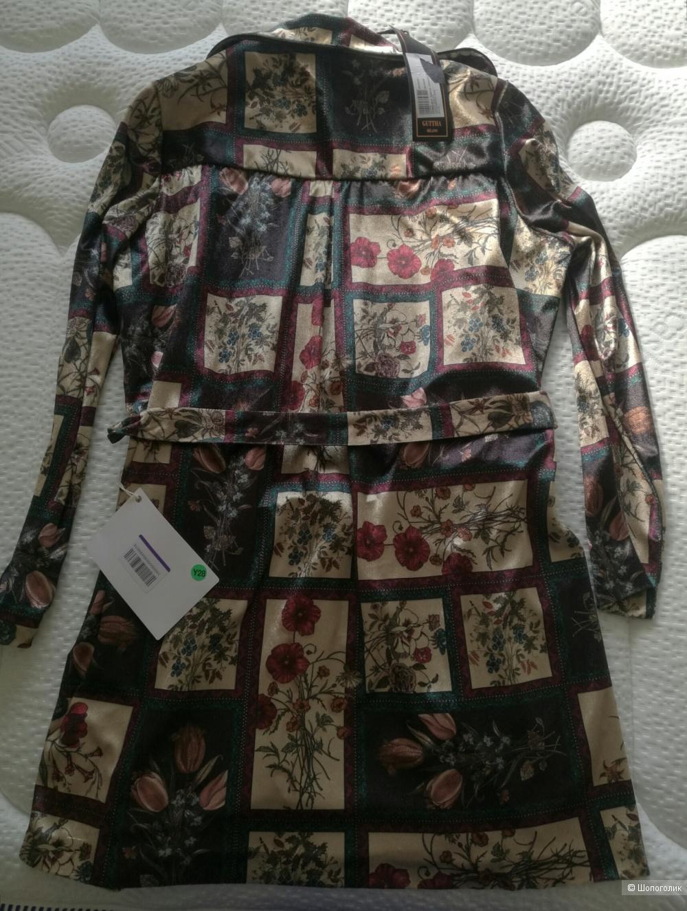 Домашний халат с запахом GUTTHA, на 42-46