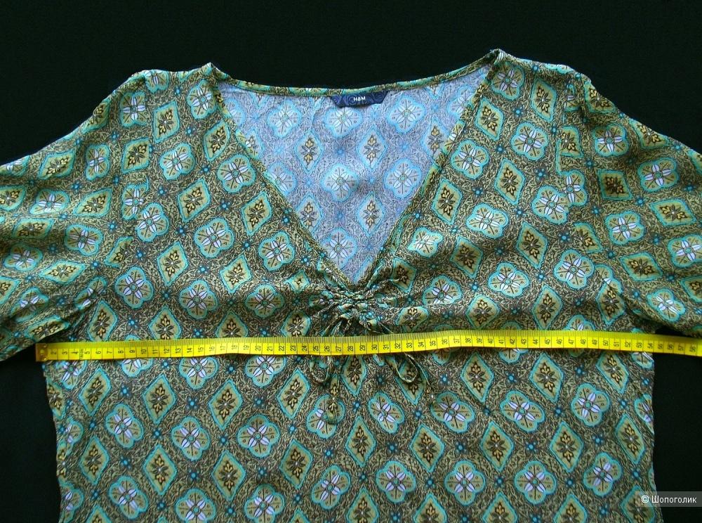 Блузка H&M, размер 16 uk (50-52 росс.)