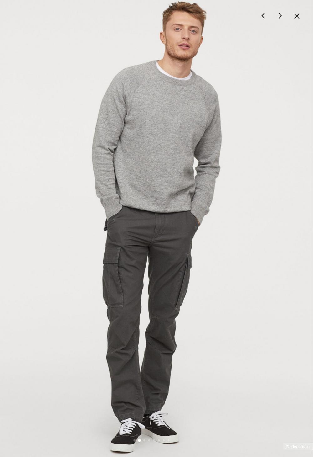 Брюки-карго H&M размер 36