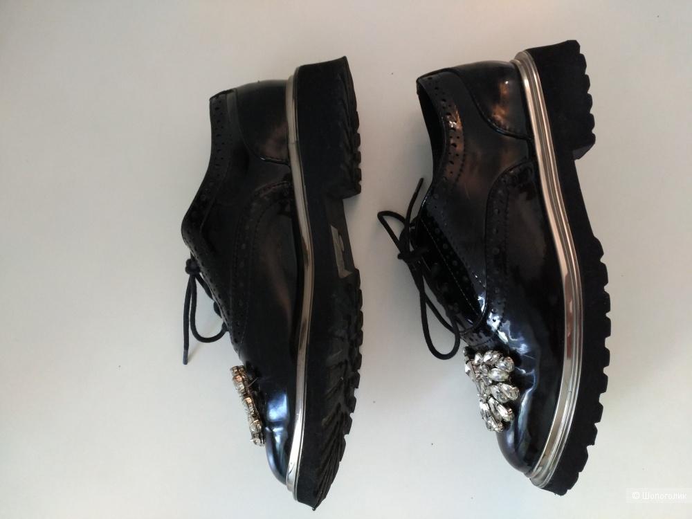 Ботинки-оксфорды ASOS,   размер 35,5