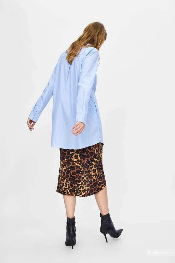 Платье - рубашка Zara Basic Z1975 denim,  М